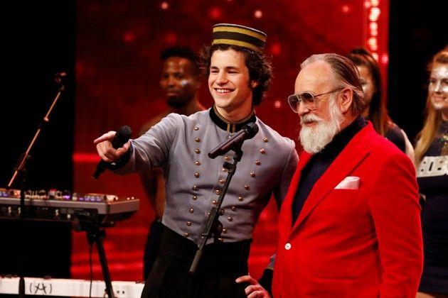 Liam Mockridge und Friedrich Liechtenstein beim Supertalent am 17.11.2018