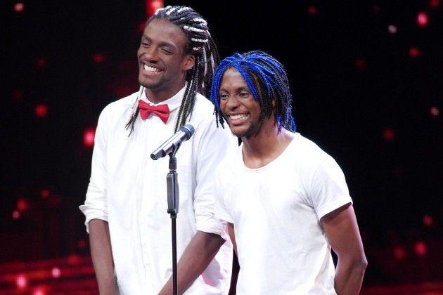 Michael Mejeh und Chimeremeze Jamie beim Supertalent am 17.11.2018