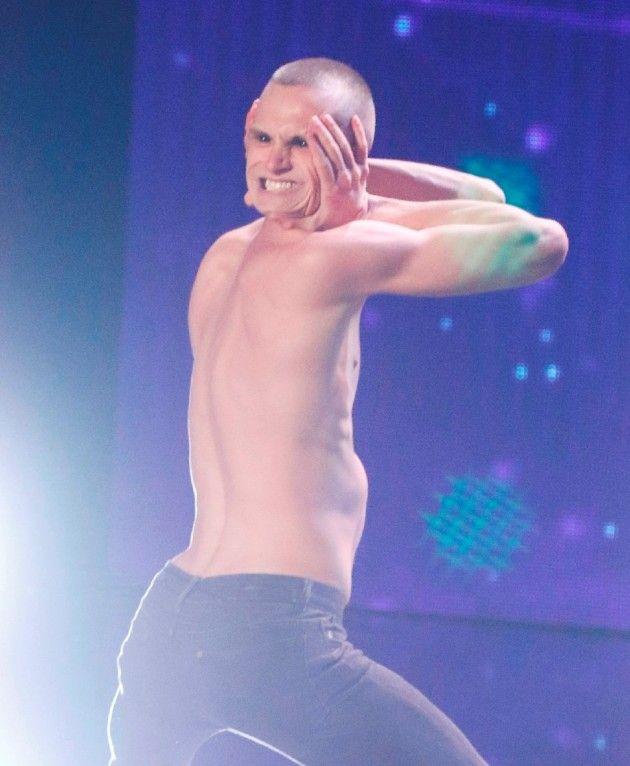 Mykhailo Makarov beim Supertalent am 10.11.2018