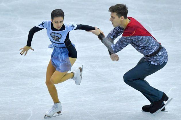 Natalia Zabiiako - Alexander Enbert aus Russland Eiskunstlauf-Saison 2018-2019 Kurzprogramm