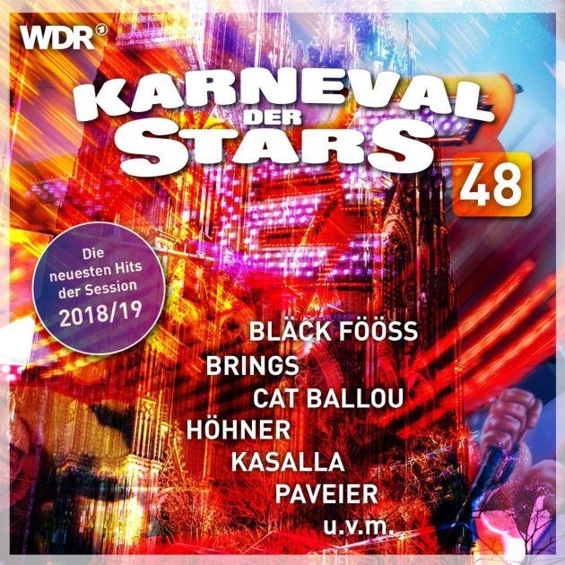 Neue Karnevalslieder Session 2018-2019 - CD Karneval der Stars 48