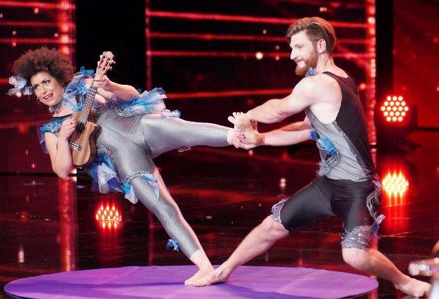 Nicole L. Borodi und Ian S. Nathan beim Supertalent am 24.11.2018