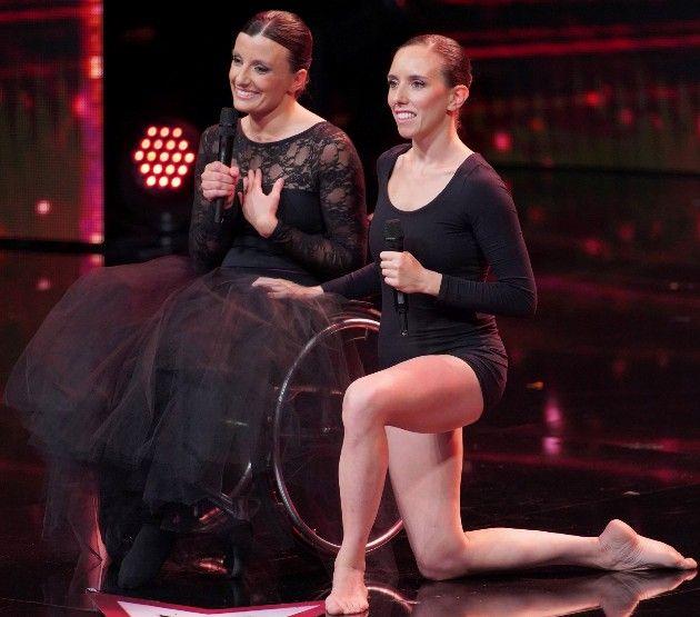 Nicoletta Tinti und Silvia Bertoluzza beim Supertalent am 17.11.2018