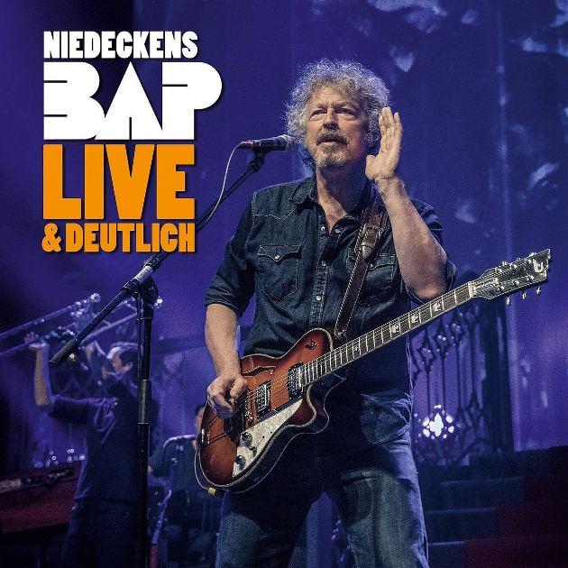 Niedeckens BAP CD Live & Deutlich