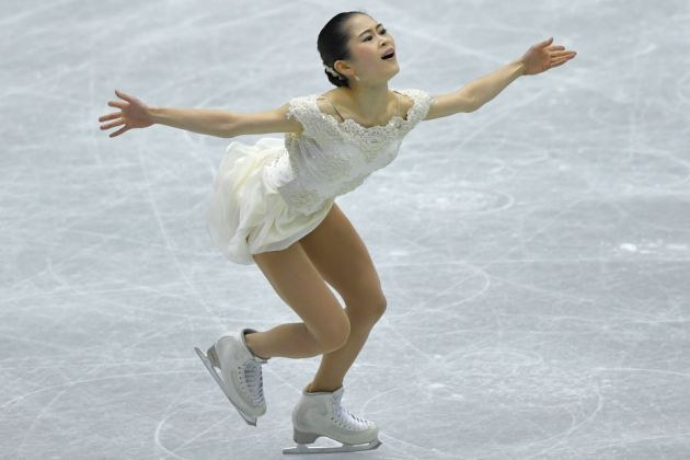 Satoko Miyahara aus Japan Eiskunstlauf-Saison 2018-2019 Kurzprogramm