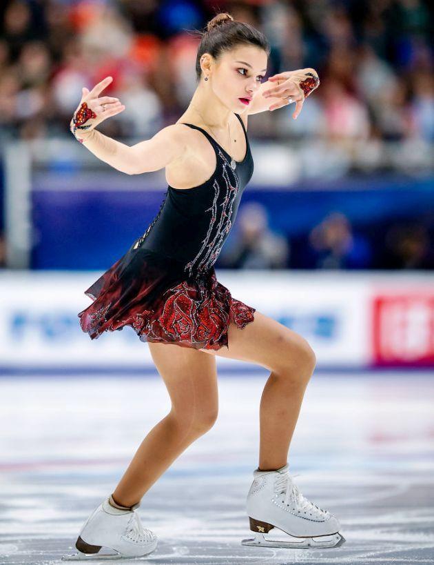 Sofia Samodurova aus Russland - Kurzprogramm Eiskunstlauf-Saison 2018-2019