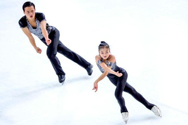 Tae Ok Ryom - Ju Sik Kim im Kurzprogramm Eiskunstlauf-Saison 2018-2019