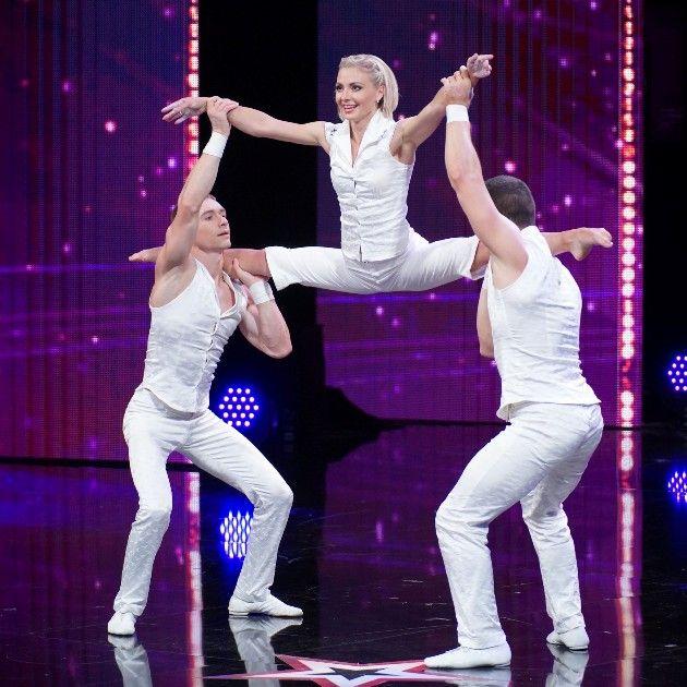 Trio Trilogy - Vladimir, Kateryna und Volodymyr beim Supertalent am 24.11.2018