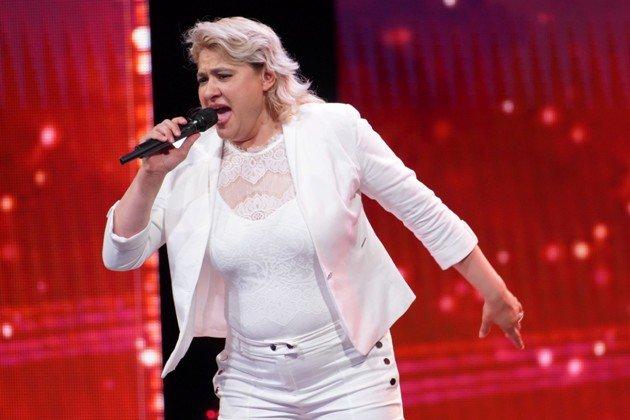 Aleksandra Kettner beim Supertalent am 15.12.2018