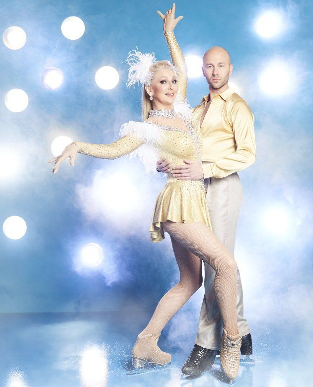 Alexander Gazsi - Desiree Nick -Paar bei Dancing on Ice 2019