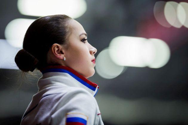 Alina Zagitova aus Russland - Favoritin beim Grand Prix Finale 2018 in Vancouver