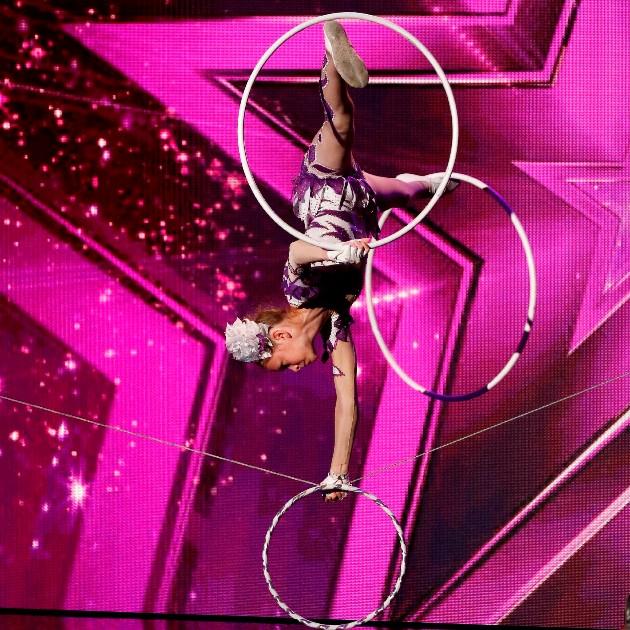 Ameli Bilyk beim Supertalent am 15.12.2018