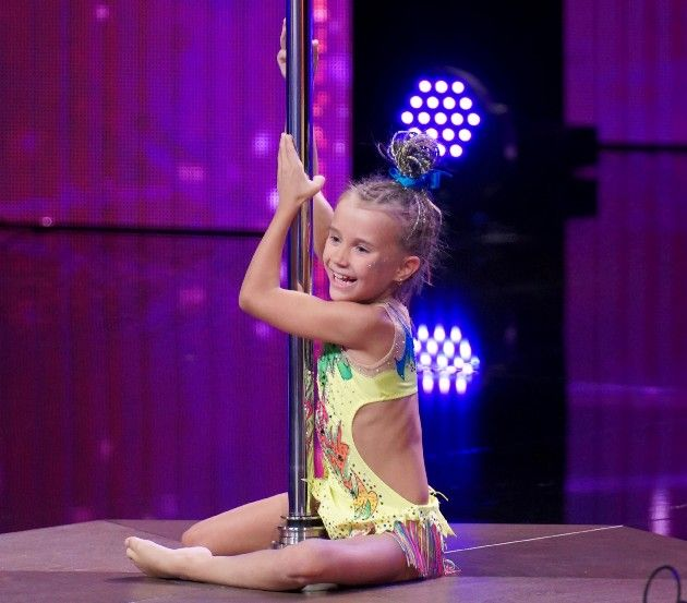 Anna Smolska beim Supertalent am 1.12.2018