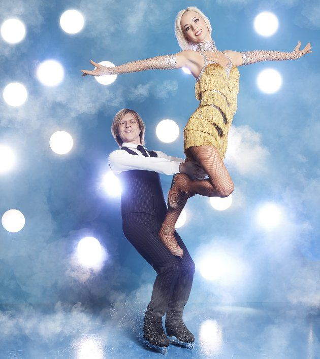 Annette Dytrt - John Kelly - Paar bei Dancing on Ice 2019