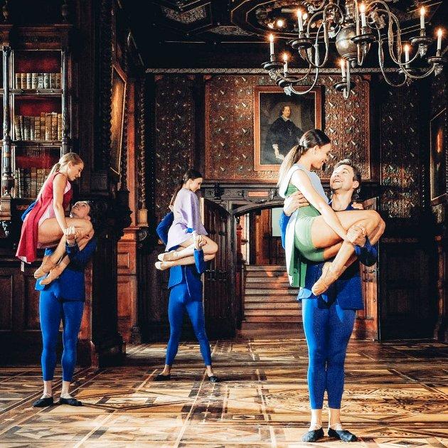 Ballett Neujahrskonzert 2019 Tänzer Eszter Ledan, Geraud Wielick, Sveva Gargiulo, Richard Szabo, Nikisha Fogo, Andrey Teterin
