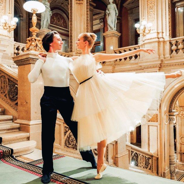 Ballett Neujahrskonzert Wiener Philharmoniker 2019 Solisten Geraud Wielick und Eszter Ledan