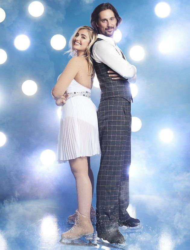 David Vincour - Sarina Nowak - Paar bei Dancing on Ice 2019