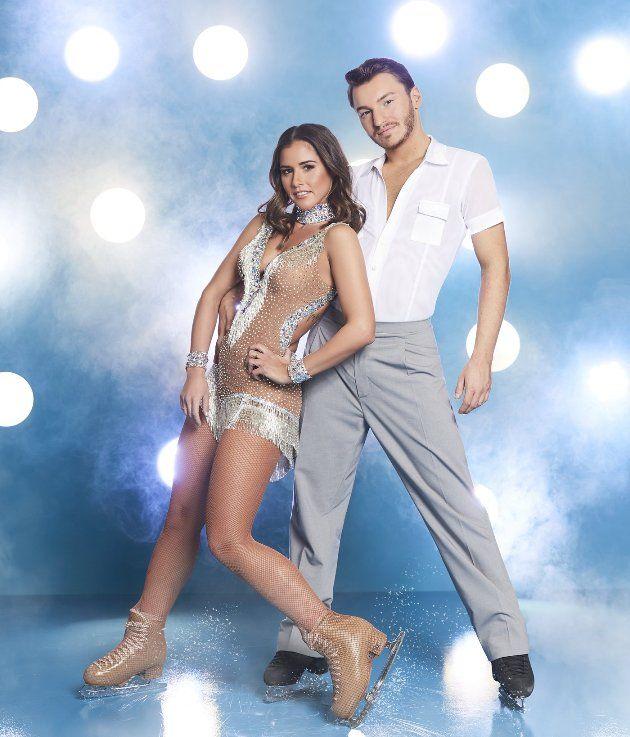 Joti Polizoakis - Sarah Lombardi Paar bei Dancing on Ice 2019