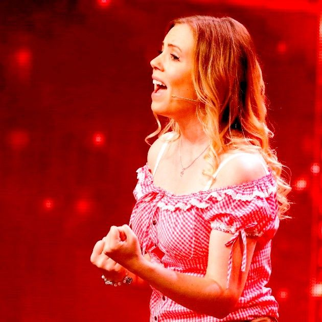 Kathrin Jakob beim Supertalent am 1.12.2018