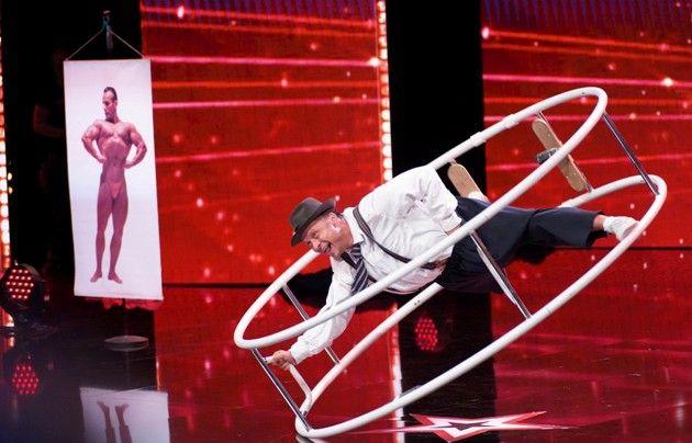 Konstantin Mouraviev beim Supertalent am 1.12.2018