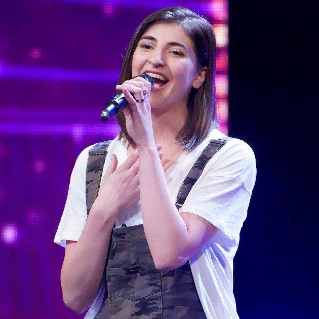 Mariam Ivardava beim Supertalent am 15.12.2018