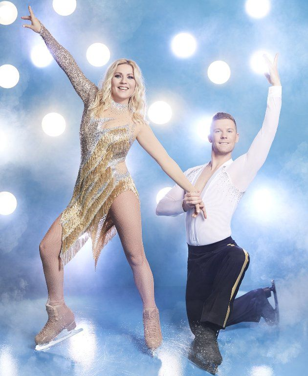 Matti Landgraf - Aleksandra Bechtel - Paar bei Dancing on Ice 2019