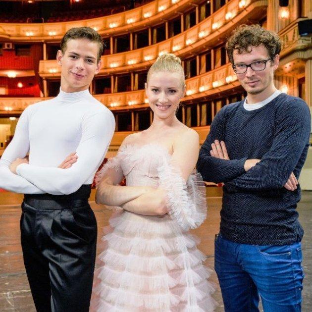 Neujahrskonzert Wiener Philharmoniker 2019 Tänzer Olga Esina, Jakob Feyferlik, Choreograf Andrey Kaydanovskiy