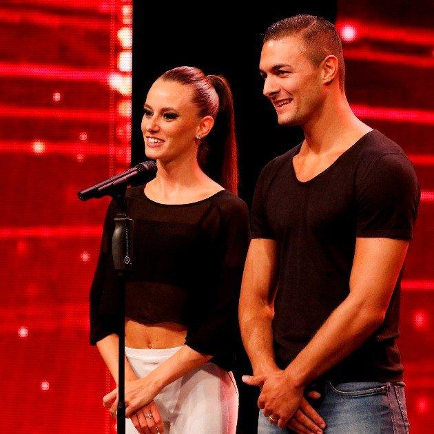 Silvia Accossato und Andrea Bosonotto Negro beim Supertalent am 15.12.2018