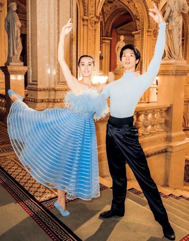 Solisten Wiener Staatsballett Kiyoka Hashimoto und Masayu Kimoto