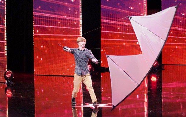 Tristan Underwood - Kandidat beim Supertalent am 8.12.2018