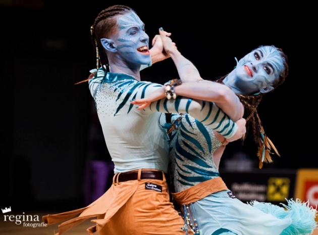 Valentin Lusin - Renata Lusin WM 2018 Show Dance Standard Riga - Lettland - Platz 2