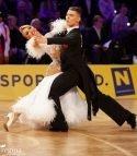 WDSF Grand Slam Finale 2018 Standard & Latein in Shanghai - hier Dmitry Zharkov - Olga Kulikova