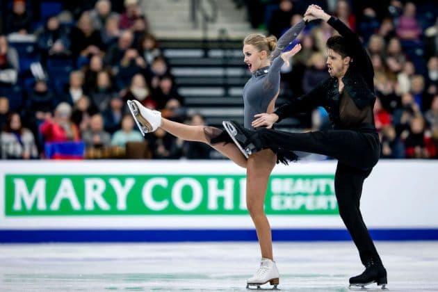 Alexandra Stepanova - Ivan Bukin - Eiskunstlauf EM 2019 Rhythm Dance