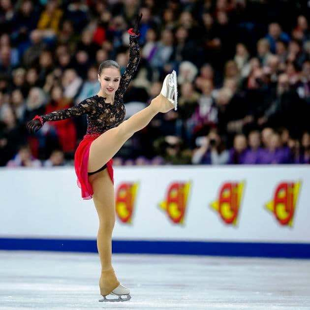 Alina Zagitova EM Eiskunstlauf 2019 in der Kür
