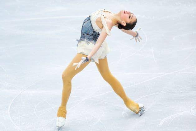 Alina Zagitova zur Eiskunstlauf EM 2019 in Minsk im Kurzprogramm