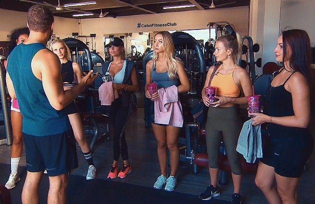 Andrej, Cecilia, Lara, Jade, Luisa, Claudia, Isabell beim Bachelor am 9.1.2019