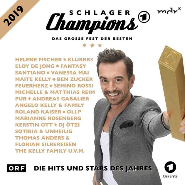 CD Schlager-Champions 2019 zur TV-Show