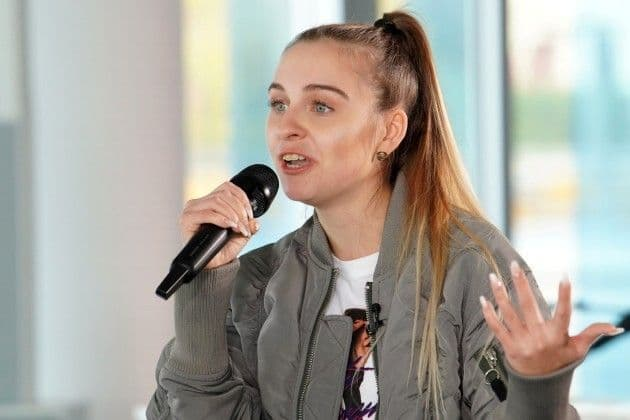 Celine Börner bei DSDS am 15.1.2019