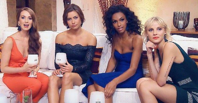 Christina, Jennifer, Cecilia und Lara beim Bachelor am 9.1.2019