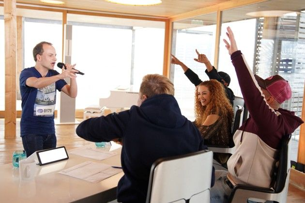 DSDS am 8.1.2019 - Stimmung in der DSDS-Jury zu Tausend und eine Nacht mit Kandidat Fabian