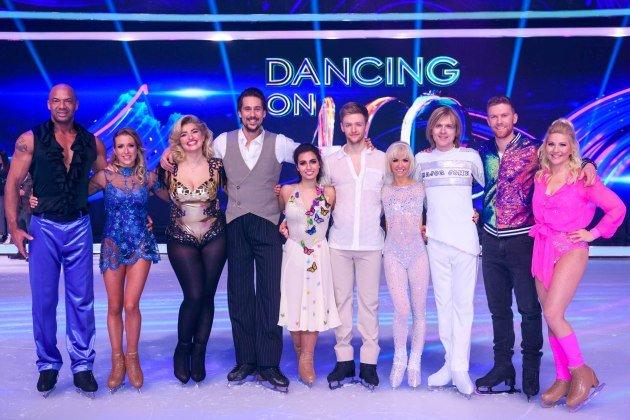 Dancing on Ice am 20.1.2019 - wer ist ausgeschieden, Punkte, Songs - hier im Bild alle Paare, die weiter sind