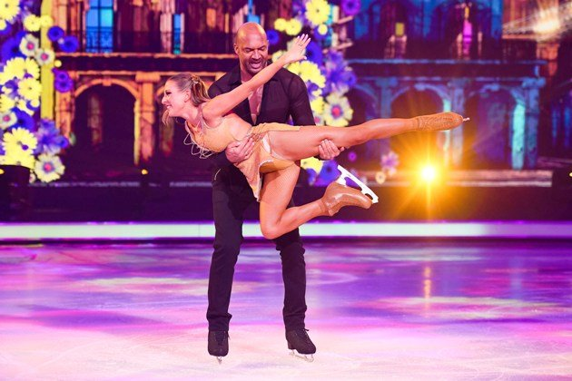 Detlef D Soost - Katharina Kat Rybowski bei Dancing on Ice am 6.1.2019