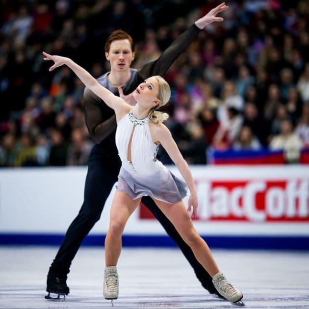 Eiskunstlauf EM 2019 - Evgenia Tarasova - Vladimir Morozov in der Kür der Eiskunstlauf-Paare