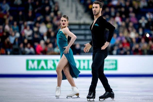 Gabriella Papadakis - Guillaume Cizeron Eiskunstlauf EM 2019 Rhythm Dance