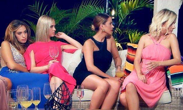 Jasmin, Karin, Nadine und Claudia beim Bachelor am 2.1.2019