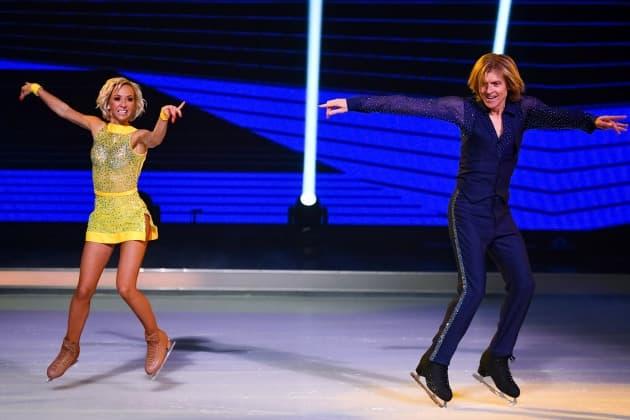 John Michael Kelly – Annette Dytrt bei Dancing on Ice am 27.1.2019