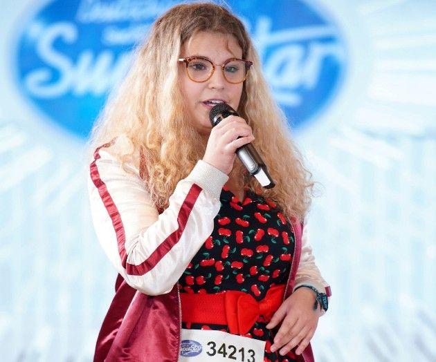 Lea Angelika Kaleck bei DSDS 2019 am 8.1.2019