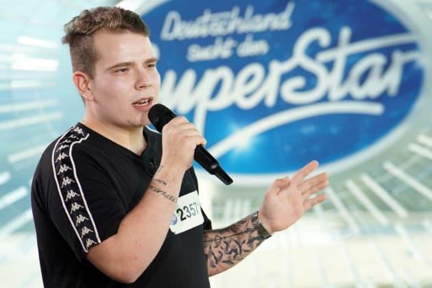 Lukas Mattioli bei DSDS 2019 am 29.1.2019