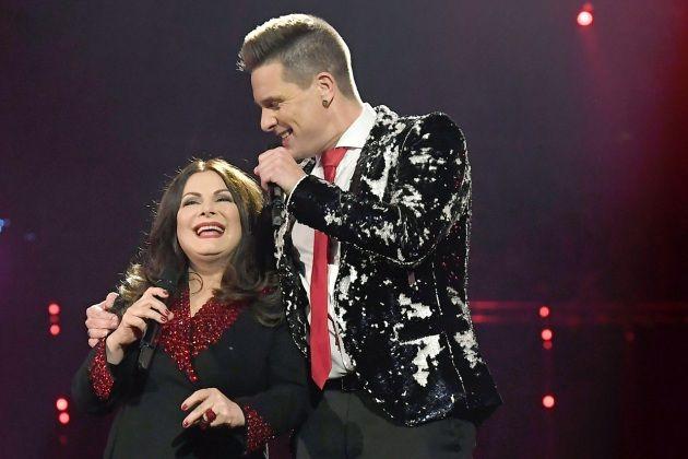 Marianne Rosenberg und Eloy de Jong bei den Schlager-Champions 2019