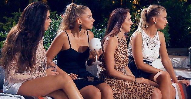 Mariya, Vanessa, Isabell und Luisa beim Bachelor am 9.1.2019